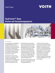 DuoFormer™ Base - Voith