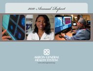 2010 Annual Report - Akron General Medical Center