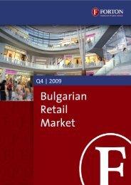 Bulgarian Retail Market – Q4, 2009.pdf - Forton
