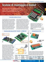 Kit moduli - Futura Elettronica