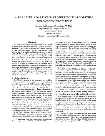 PDF - Parallel Programming Laboratory