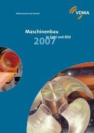 VDMA Maschinenbau in Zahl und Bild - Zukunft Maschinenbau
