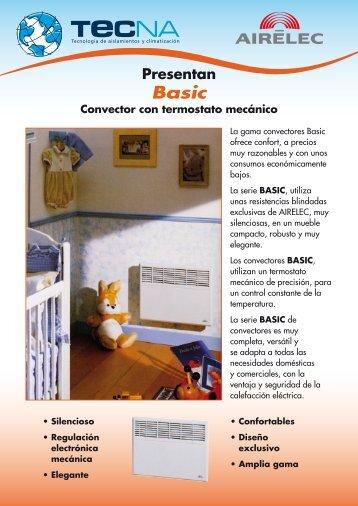 Convector AIRELEC-BASIC - Tecna