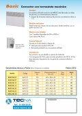 Convector AIRELEC-BASIC - Tecna - Page 2