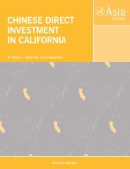 CHINESE DIRECT INVESTMENT IN CALIFORNIA - Rhodium Group