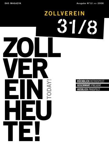 Ausgabe 2008 - Zeche Zollverein