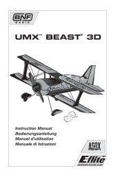 33095 EFL UMX Beast 3D Manual multi.indb - Robot MarketPlace