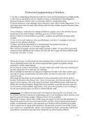 [pdf] Professionel gruppetræning af Afatikere