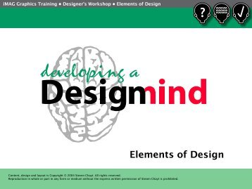 Basic Design Elements - iMAG