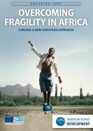 overcoming fragility in africa - ERD - European University Institute