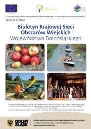 Biuletyn Krajowej Sieci Obszarów Wiejskich Województwa ... - KSOW