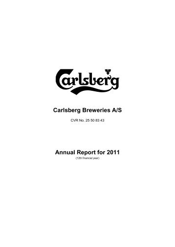 Management statement - Carlsberg Group