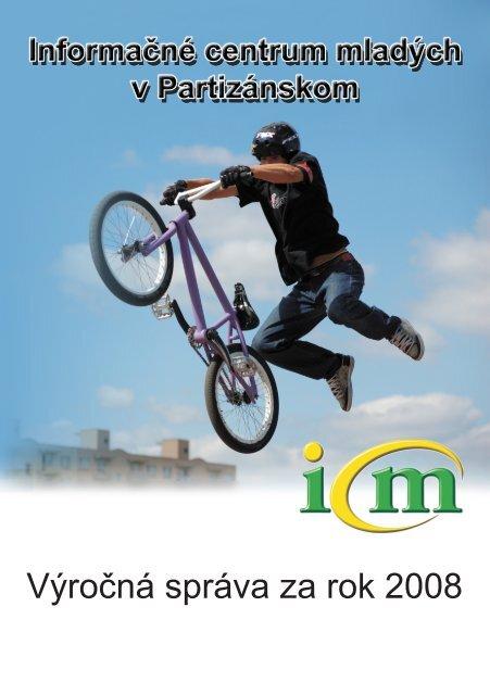 Výročná správa za rok 2008 - Informačné centrum mladých