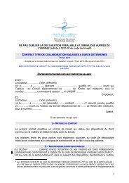 temps plein - Conseil National de l'Ordre des Médecins