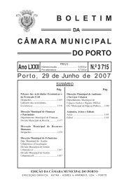 boletim 3715 - Câmara Municipal do Porto