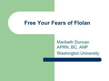 2007 Symposium Flolan - PHA Online University