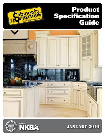 Product Specification Guide   CLkitchens.com
