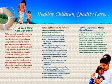 quality child care essay