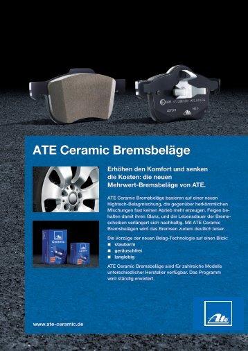 ATE Ceramic Bremsbeläge