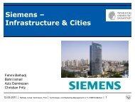 Siemens – Infrastructure & Cities - KOM