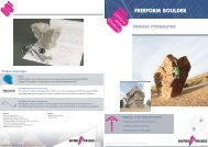 Freeform boulder - Entre Prises Climbing Walls