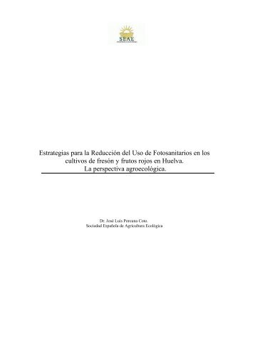 Descargar el documento - Sociedad Española de Agricultura ...