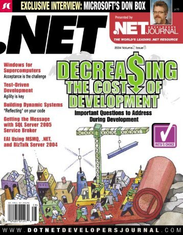 DNDJ 2-8.qxd - sys-con.com's archive of magazines - SYS-CON ...