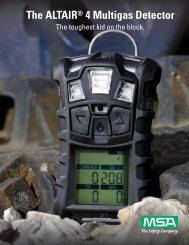 The ALTAIR® 4 Multigas Detector - Systag