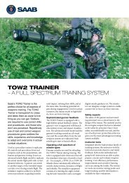 TOW2 TRAINER – A FULL SPECTRUM TRAINING SYSTEM - Saab