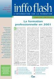 La formation professionnelle en 2001 - Centre Inffo