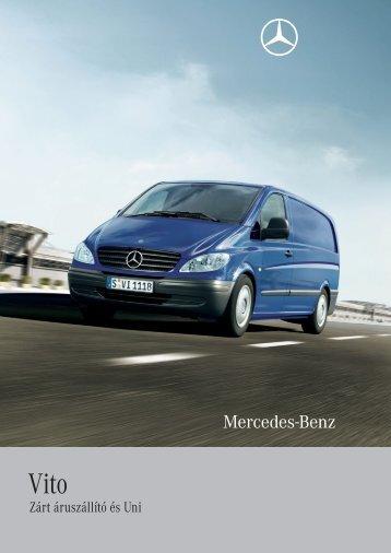 Zárt áruszállító és Uni - Mercedes-Benz Magyarország