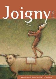Le bulletin municipal de la ville de Joigny - n° 36 - janvier 2012