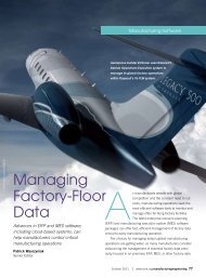 Managing Factory-Floor Data - Society of Manufacturing Engineers