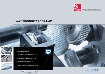 zeus® PRODUKTPROGRAMM - Zeus-tooling.de