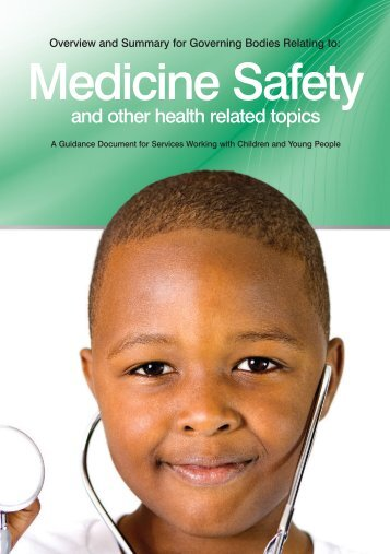 Medicine safety booklet - Lancashire County Council