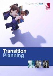 Transition Planning - Wigan Schools Online