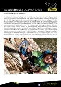 Gesicherter Drahtseilakt zum Gipfelglück - Salewa - Page 2