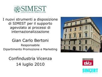 Diapositiva 1 - Associazione Industriali della Provincia di Vicenza