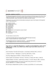 Jazz Index – created on 4. Juli 2012 The following bibliographical ...