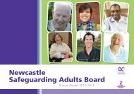 Newcastle Safeguarding Adults Board annual report 2010/11 (pdf)