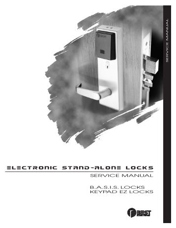Electronic Stand-Alone Locks Service Manual - Best Access Systems