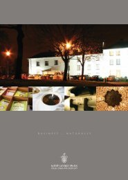 Business & Conference brochure - Beales Hotels