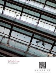 Banking & Finance An introduction - Nabarro