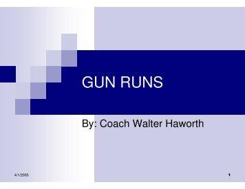 GUN RUNS - Fast and Furious Football