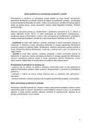 Uputa građanima za podnošenje predstavki i pritužbi - Ministarstvo ...