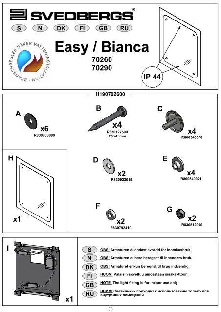 Easy / Bianca - Bygghemma