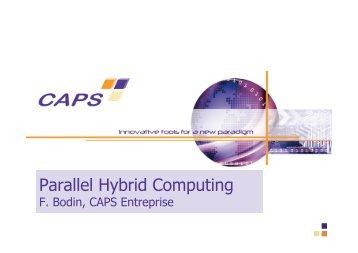 Parallel Hybrid Computing
