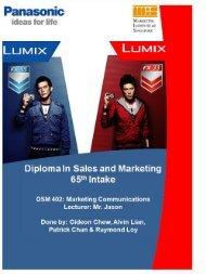 DMS IMC Panasonic Lumix Campaign - Strongerhead