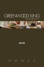 view annual report 2011 (pdf) - Greenwood King Properties