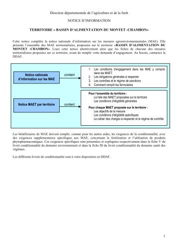 36-Notice Mater 2008 montet chambon - L'Europe s'engage en ...